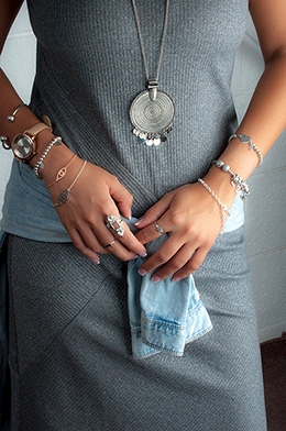 How to layer jewelry - the more the better or how not to overdo?