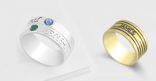 Engraved Rings - Banner