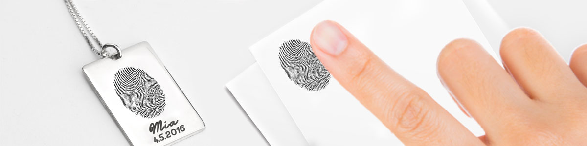 Fingerprint Jewelry - Banner