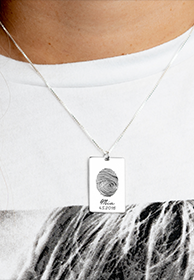 Fingerprint Jewellery - Banner