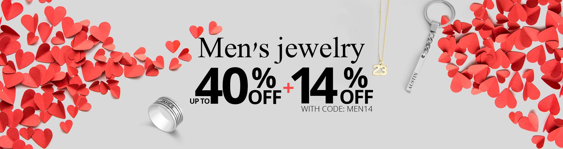 Men's jewellery - Banner