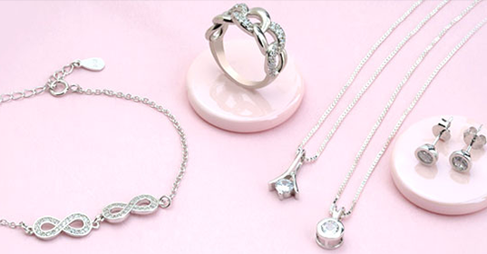 Cubic Zirconia Jewelry - Banner