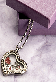Floating Locket - Banner