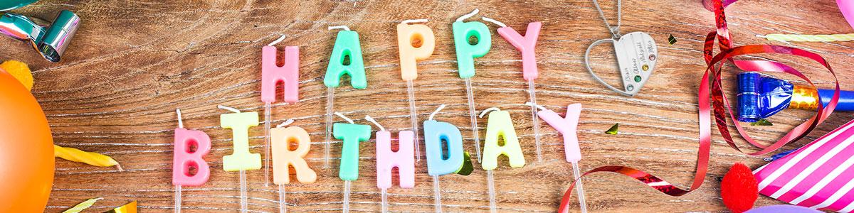 Regalos de Cumpleaños - Banner
