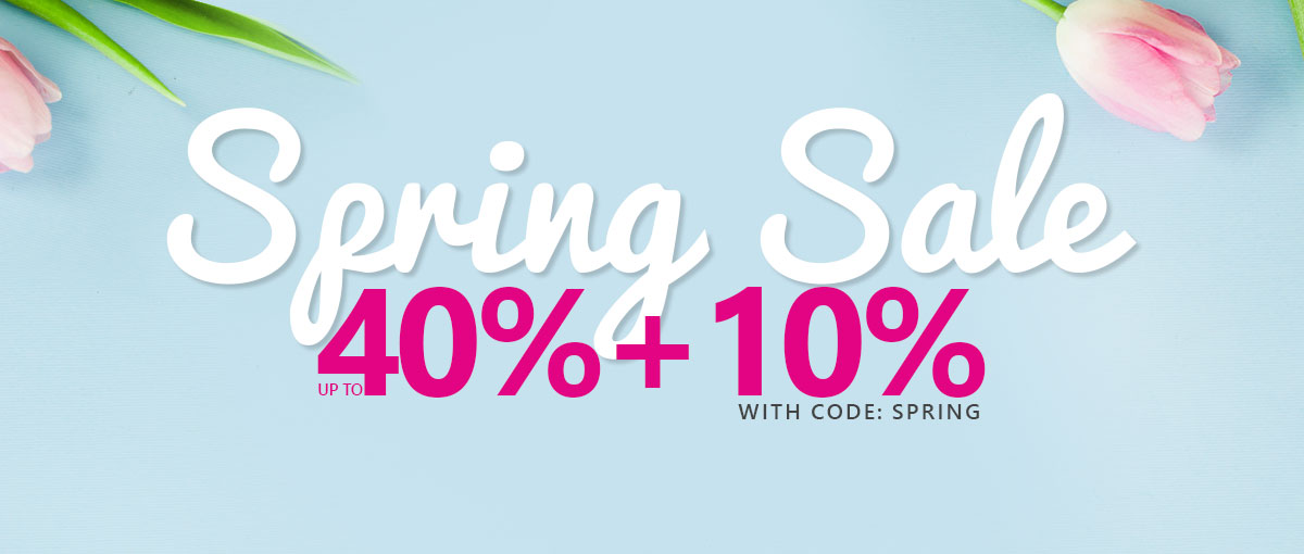 Spring Clearance - Banner