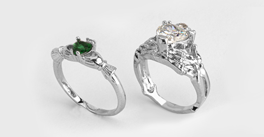 Claddagh Rings - Banner