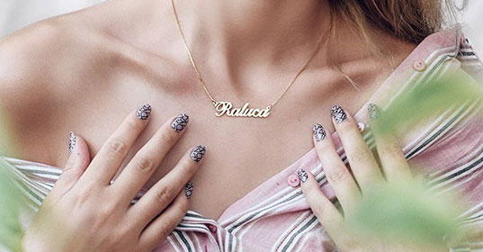 Name Necklaces - Banner