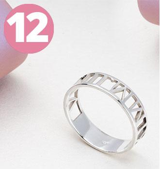 Bestsellers - Roman Numeral Ring