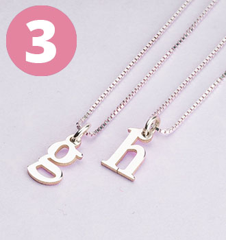 Bestsellers - Small Initial Necklace