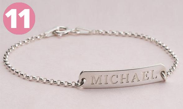 Bestsellers - Classic Name Bar Bracelet