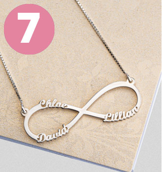 Bestsellers - Collar Infinito con Nombres