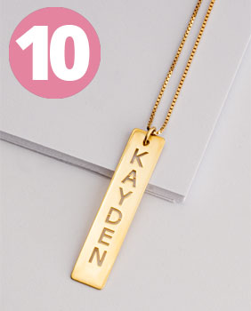 Bestsellers - Bar Pendant Necklace