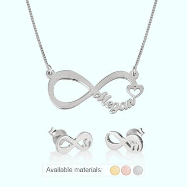 Infinity Jewelry Set