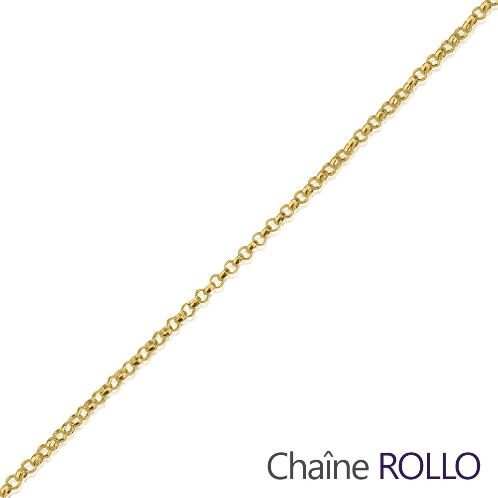 Gold Rolo Chain