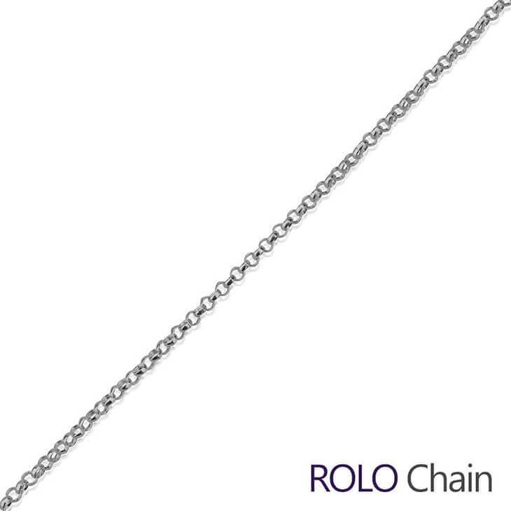 Silver Rolo Chain