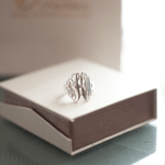 Interlocking Monogram Ring -                          	How it looks in reality - Thumbnail - 7