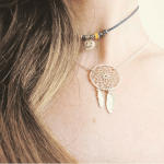 Dreamcatcher Necklace -                          	How it looks in reality - Thumbnail - 6