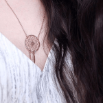 Dreamcatcher Necklace -                          	How it looks in reality - Thumbnail - 0
