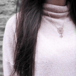 Dreamcatcher Necklace -                          	How it looks in reality - Thumbnail - 4