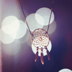 Dreamcatcher Necklace -                          	How it looks in reality - Thumbnail - 3