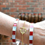 Anchor Bracelet -                          	How it looks in reality - Thumbnail - 3