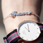 Carrie Style Name Bracelet -                          	How it looks in reality - Thumbnail - 0