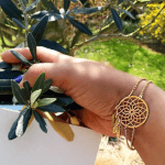 Dreamcatcher Bracelet -                          	How it looks in reality - Thumbnail - 5