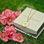 Disc Name Necklace -                          	How it looks in reality - Thumbnail - 0