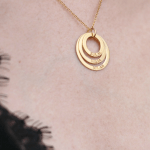 Engraved Mother Necklace -                          	How it looks in reality - Thumbnail - 6