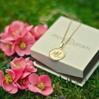 24K Gold Plated Stamp Name Necklace -                          	How it looks in reality - Thumbnail - 0