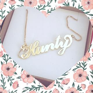 Carrie Name Necklace -                          	How it looks in reality - Thumbnail - 17