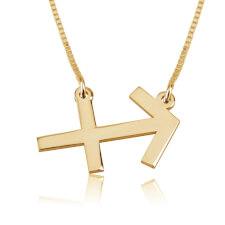 Sagittarius Necklace in Gold Plating