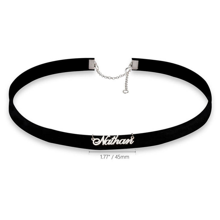 Name Choker Necklace - Information