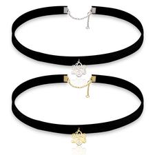 Monogram Choker Necklace