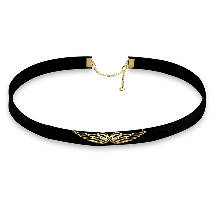 Wing Choker Necklace