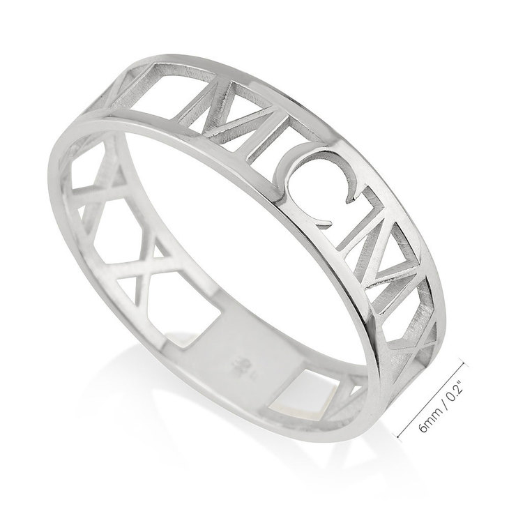 Roman Numeral Ring - Information