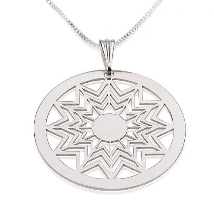 Sterling Silver Crop Circle Necklaces  - Picture 3