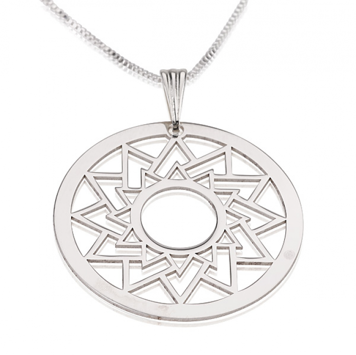 Sterling Silver Crop Circle Necklaces  - Picture 4