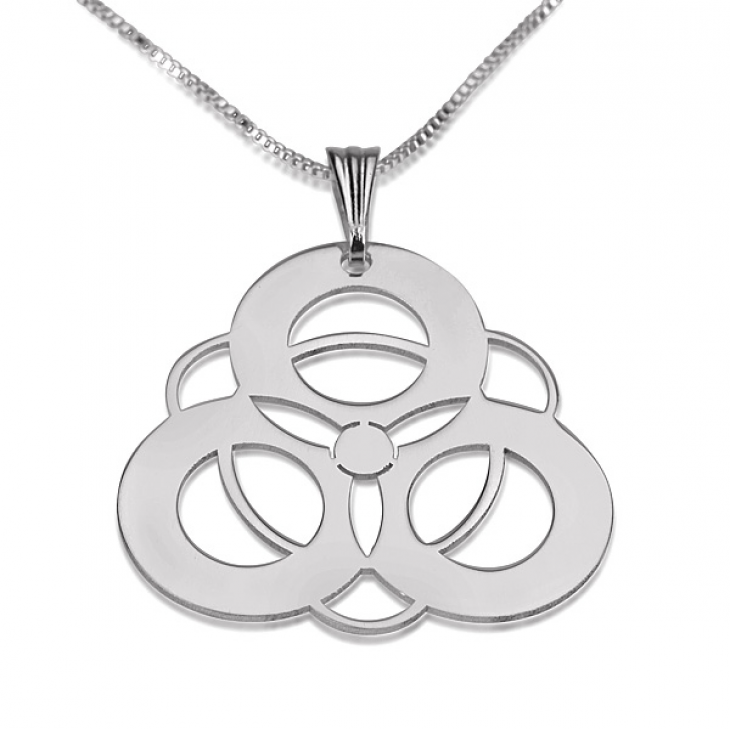 Sterling Silver Crop Circle Necklaces - Picture 5