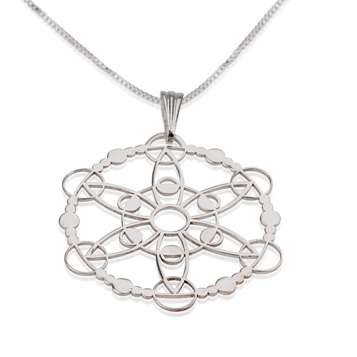 Sterling Silver Crop Circle Necklaces - Picture 7