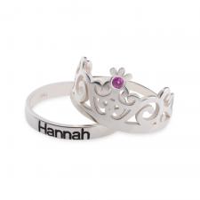 Crown Couple Rings