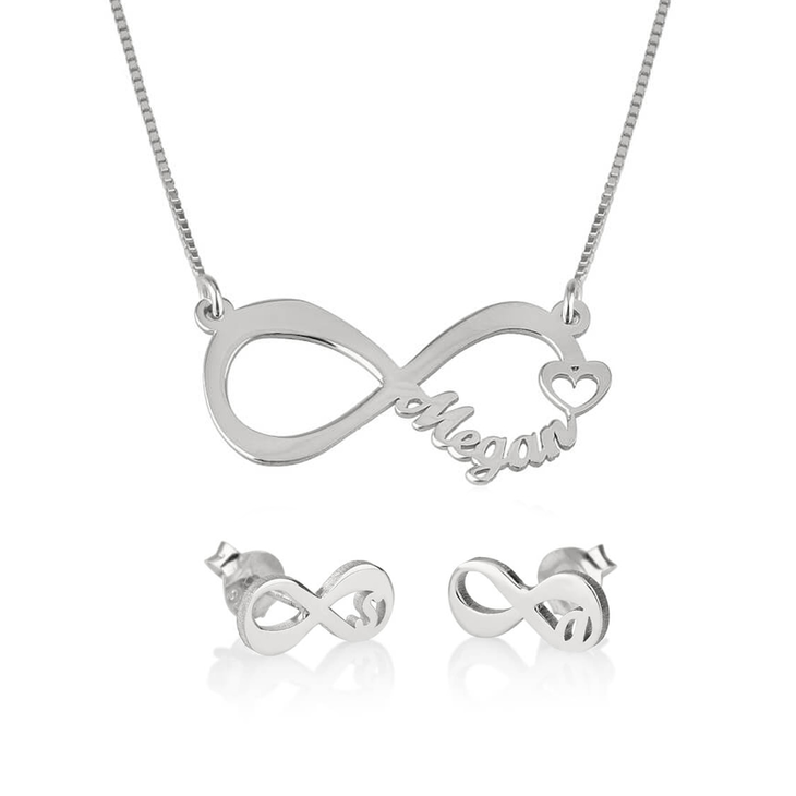 Infinity Jewellery Set
