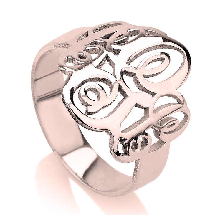 Interlocking Monogram Ring