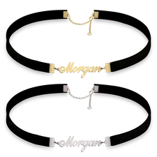 Split Choker with Name