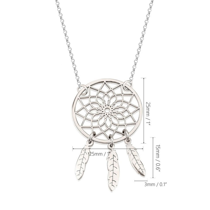 Dreamcatcher Necklace - Information