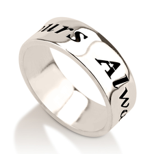 Handwriting Name Ring