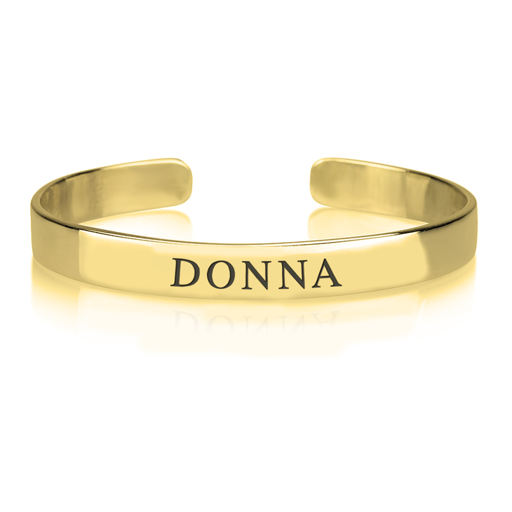 Personalized Name Bangle  - Picture 2