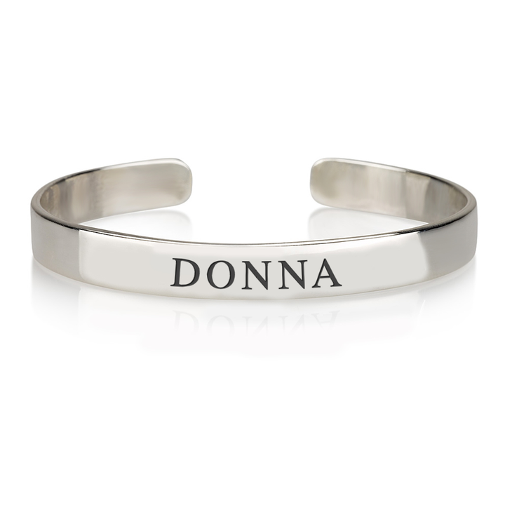 Personalised Name Bangle  - Picture 2
