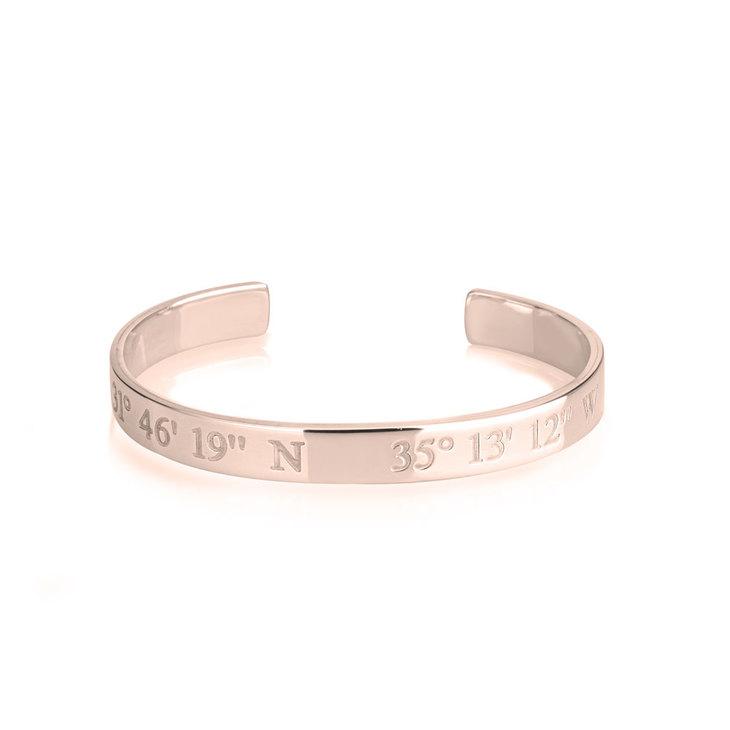 Longitude and Latitude Bracelet