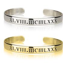 Roman Numeral Bracelet
